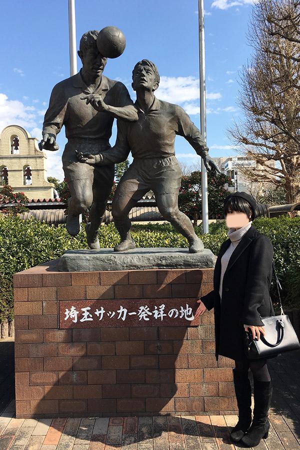 サッカーの街浦和・調神社