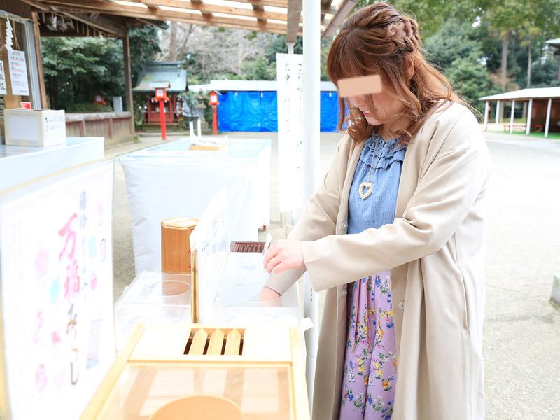 鷲宮神社 お花見